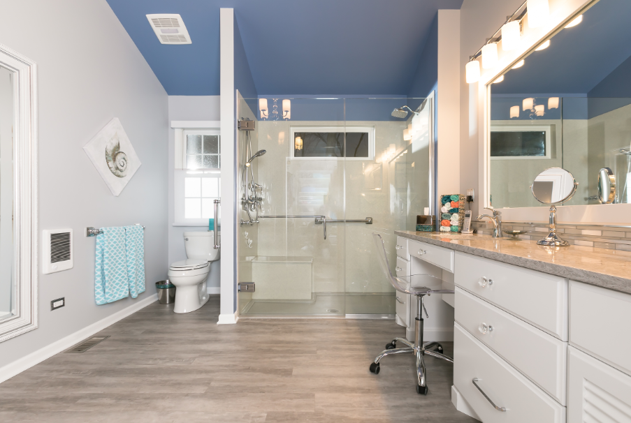 Inspiration for Adding Color to Your Bathroom